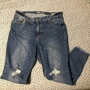 Old Navy Jeans Rockstar Super Skinny High rise 16